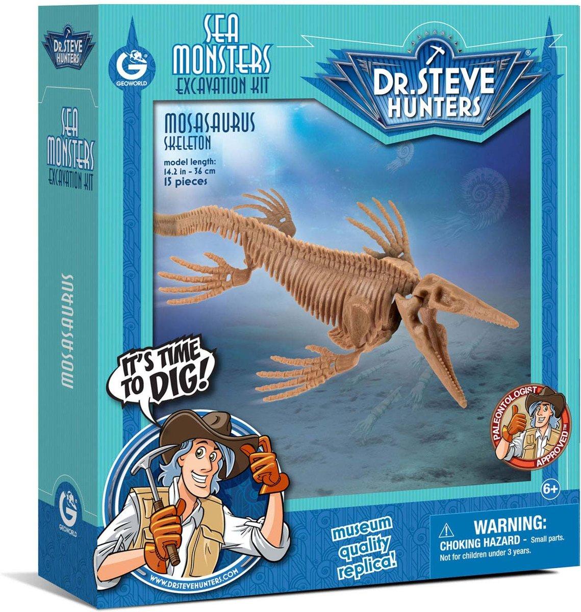 Sea Monsters Excavation Kit - Mosasaurus Skeleton kopen