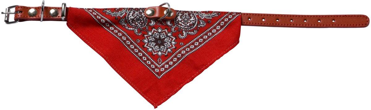 Adori Halsband Met Zakdoek - 35 x 1,2 cm - S - Rood kopen