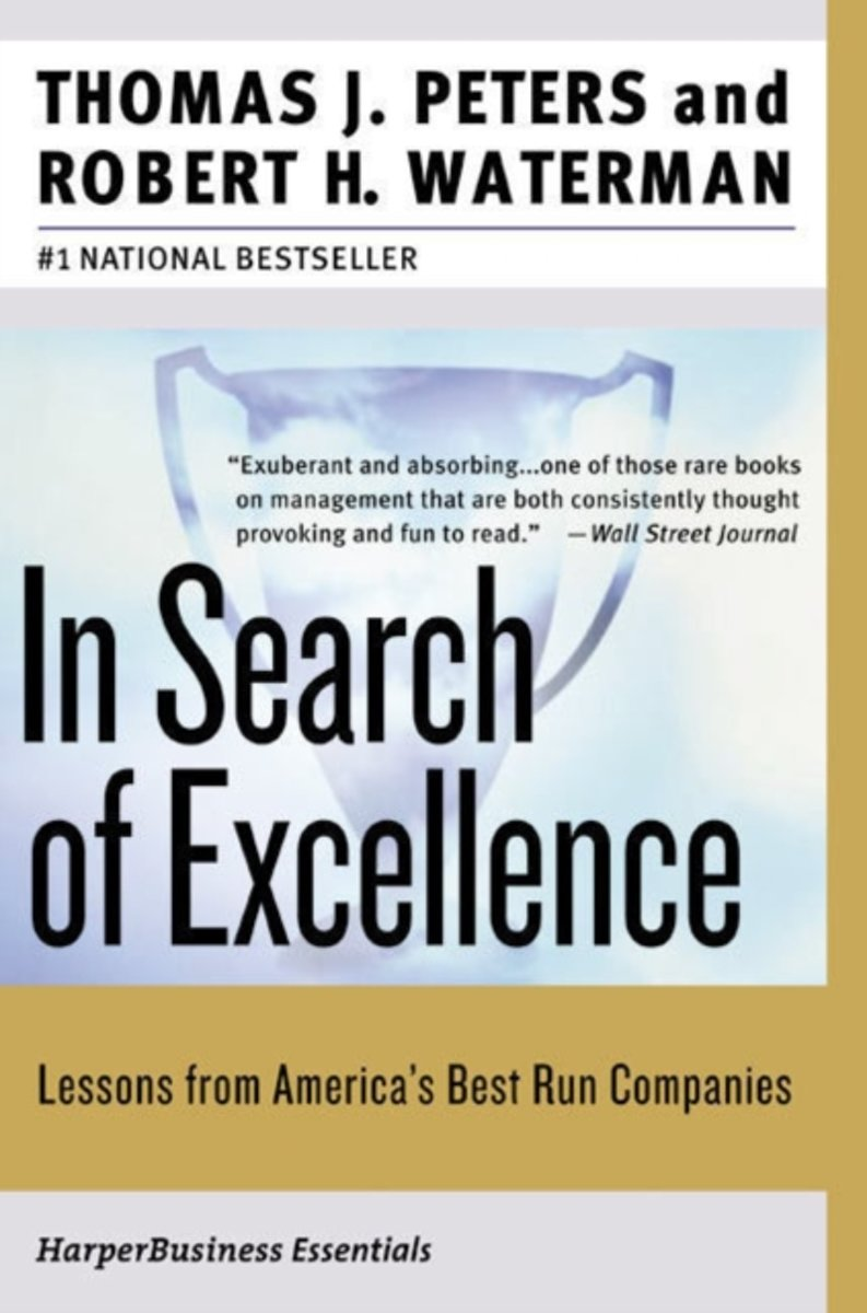 Bol in search of excellence tom peters 9780060548780 boeken publicscrutiny Choice Image