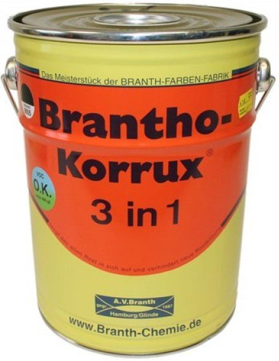 Brantho Korrux 3 in 1 5L - RAL 5007