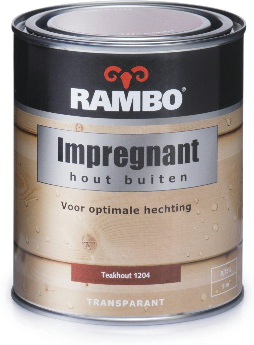 Rambo Impregnant - Teakhout 1204 - 2,5 L