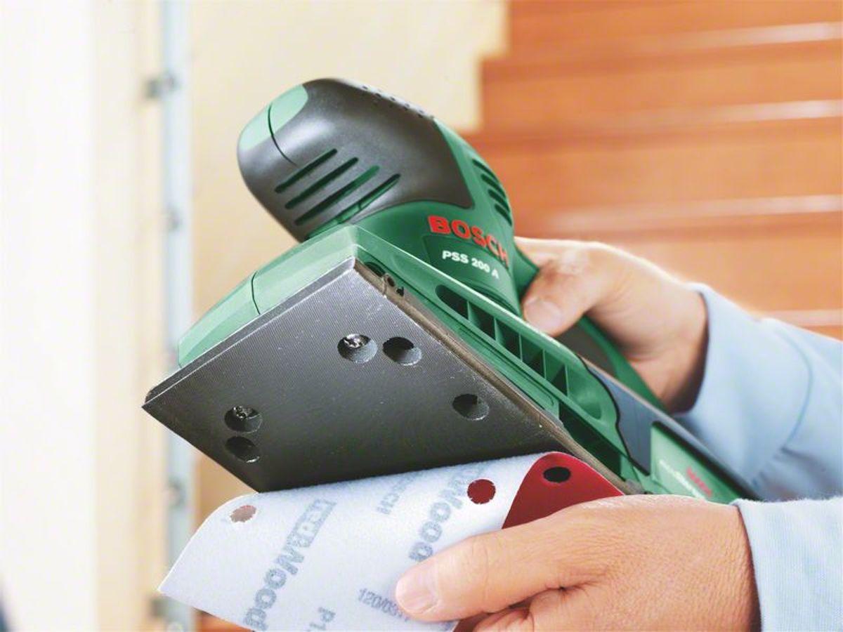 Favoriete bol.com | Bosch PSS 200 A Vlakschuurmachine QN39