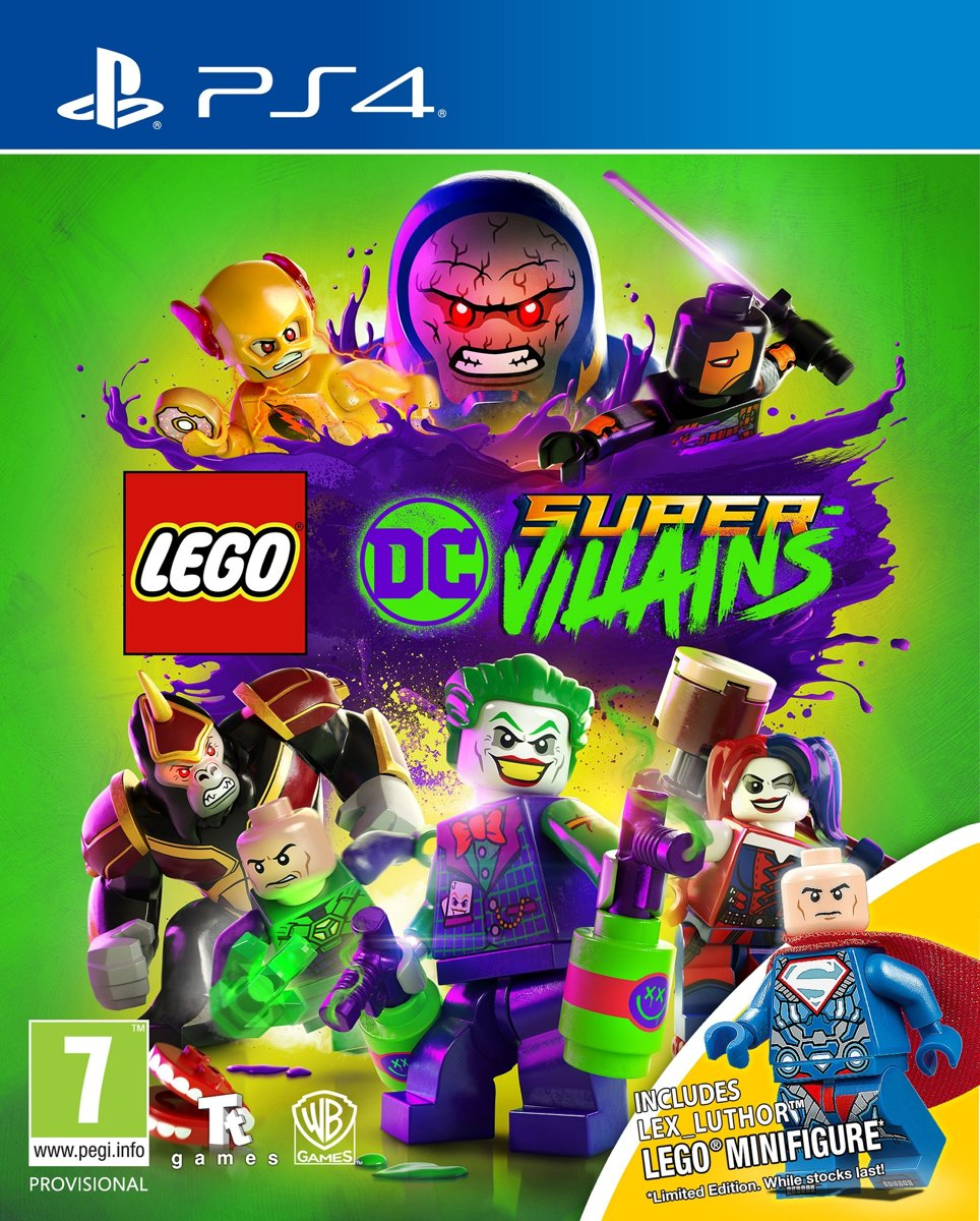LEGO DC Super Villains - Limited Edition PlayStation 4