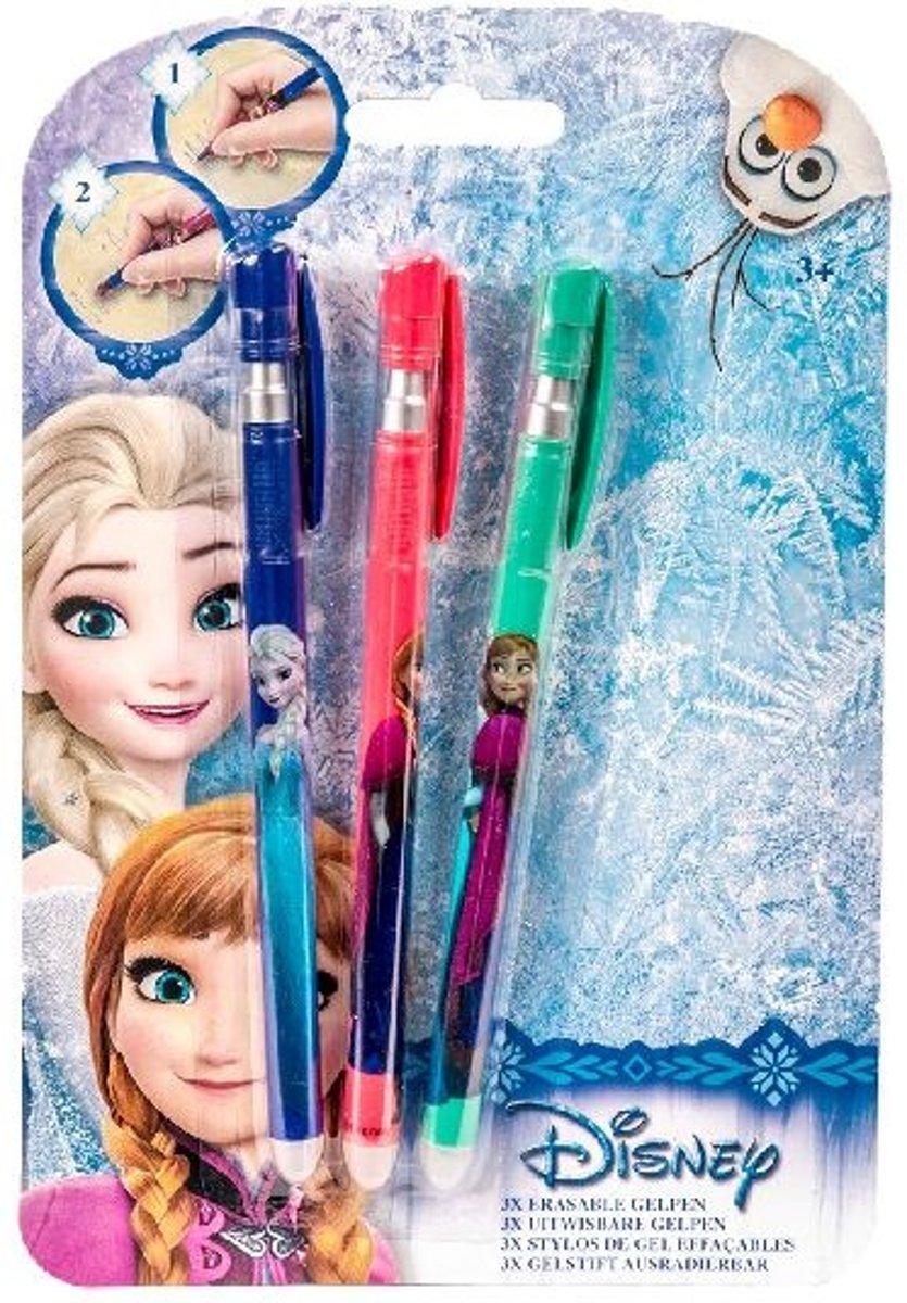 Frozen Gelpennen uitwisbaar 3st. kopen