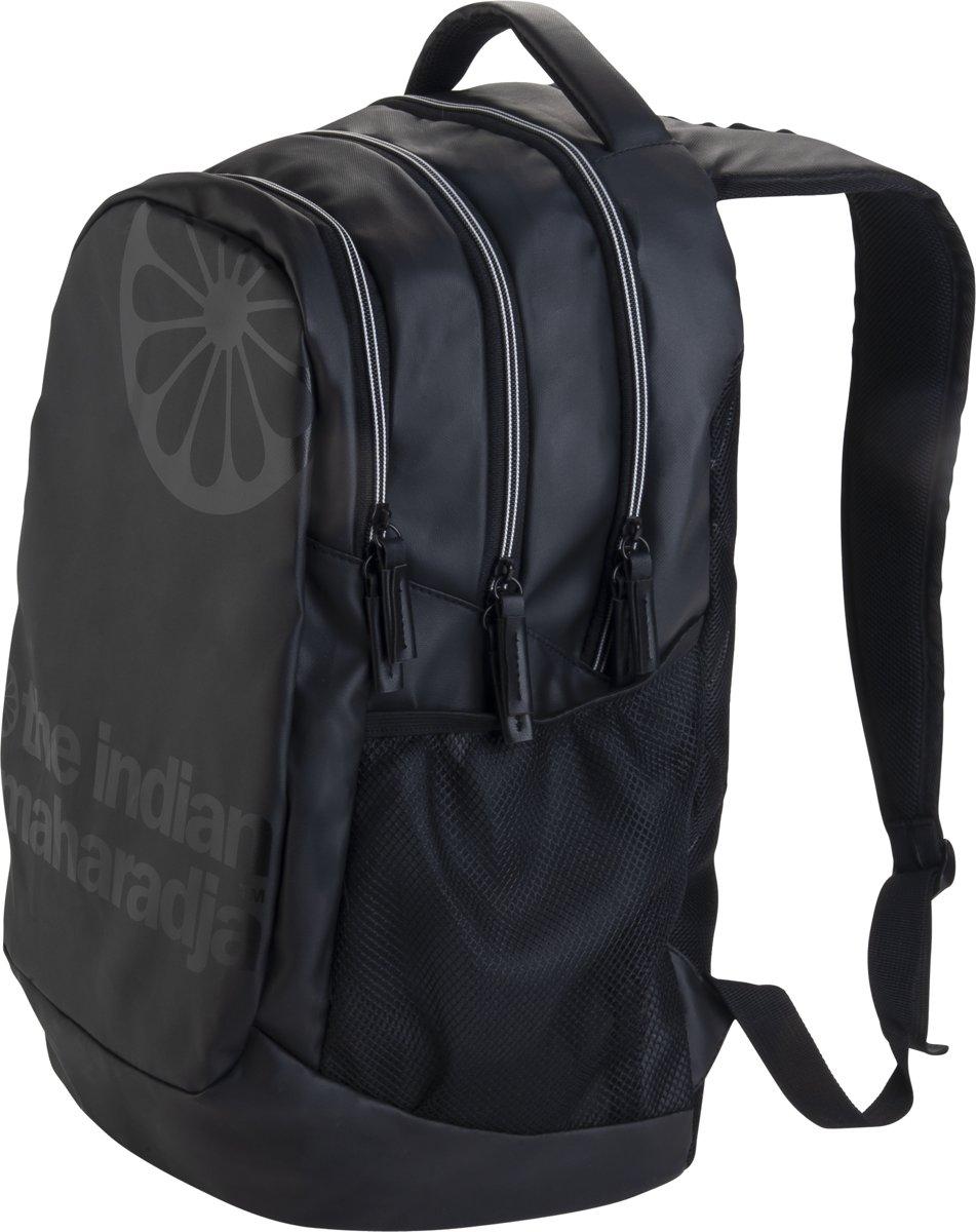 The Indian Maharadja Backpack-black/white- zwart-wit - Hockeystickrugzak Uni kopen
