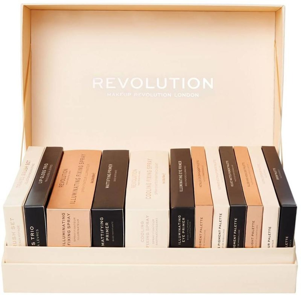 Makeup Revolution 12 Days of Christmas 2018 Beauty Advent Make Up Gift Set