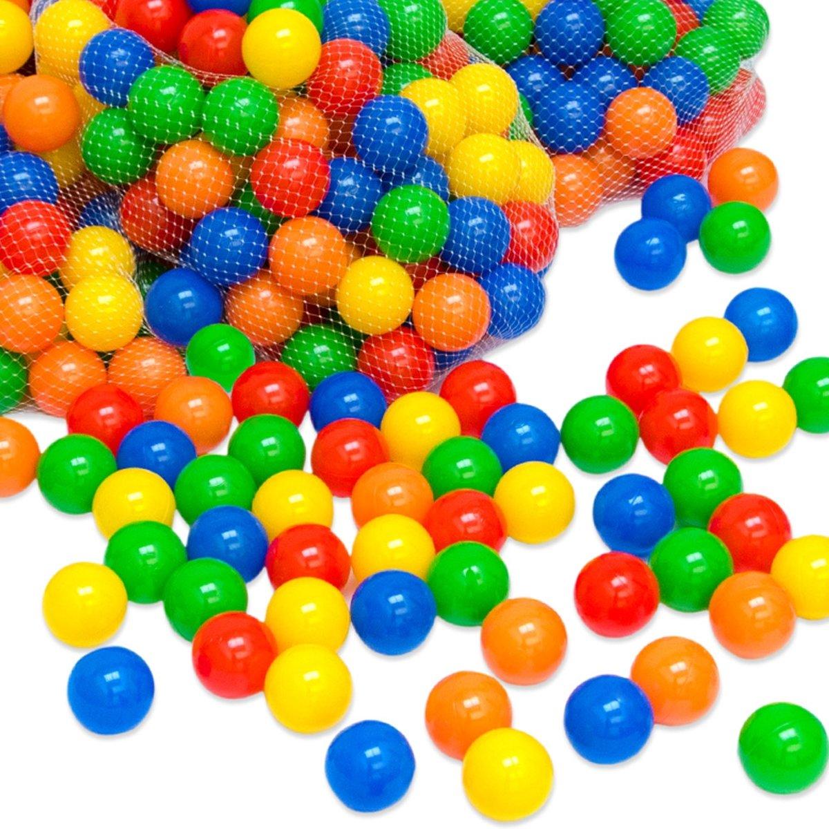 Balbadballen 1 x 50 ballen 5,5cm diameter