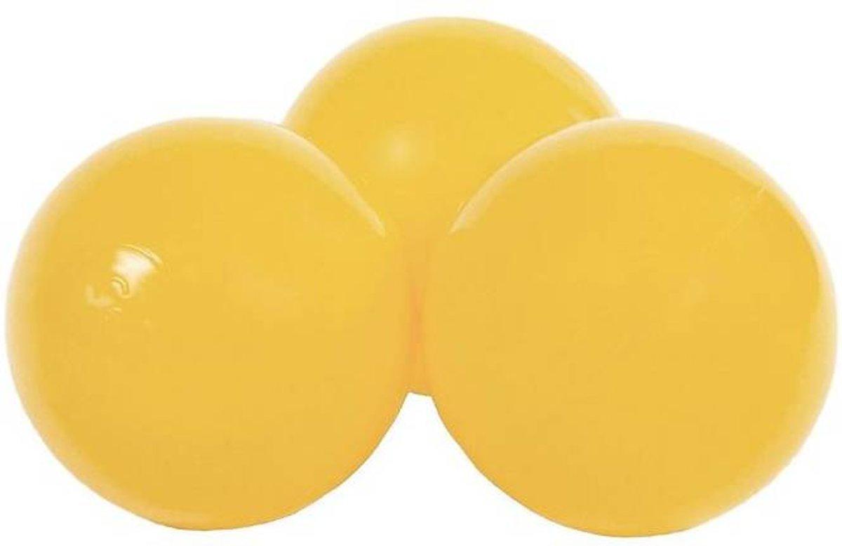 Misioo Extra set ballen, 50 stuks | Mosterdgeel