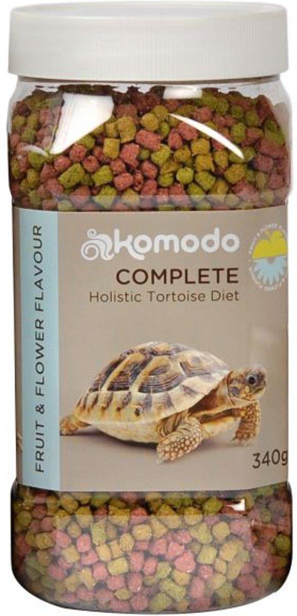 Komodo Schildpadvoer - Fruit/Bloem - 340 gr