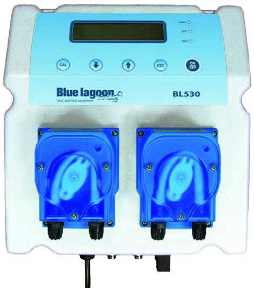 Blue Lagoon BL530 Compact Poolsystem PH/Redox Meet & Doseersysteem