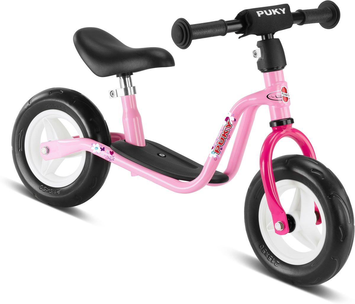 Loopfiets Puky roze 24 maanden