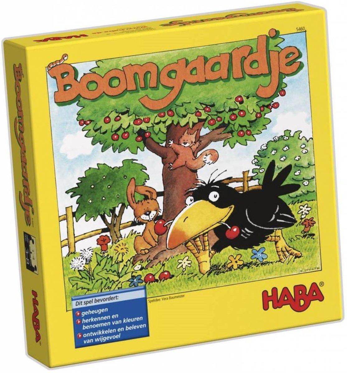 Haba Spel Spelletjes vanaf 3 jaar Boomgaardje