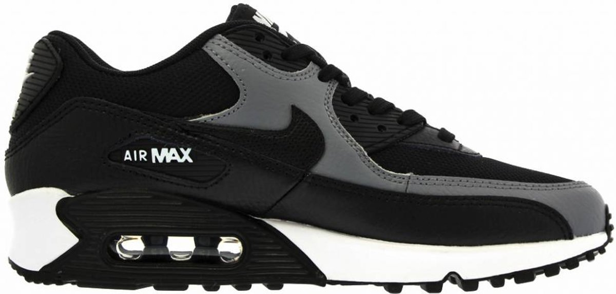 super popular 00a17 06ccd ... Nike Air Max 90 Essential Sneakers - zwart/grijs 325213-037 maat 40.5  ...
