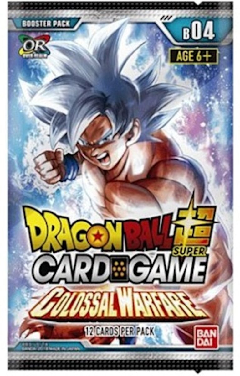 Dragon Ball Scg Colossal Warfare Boosterpack B04 (en)