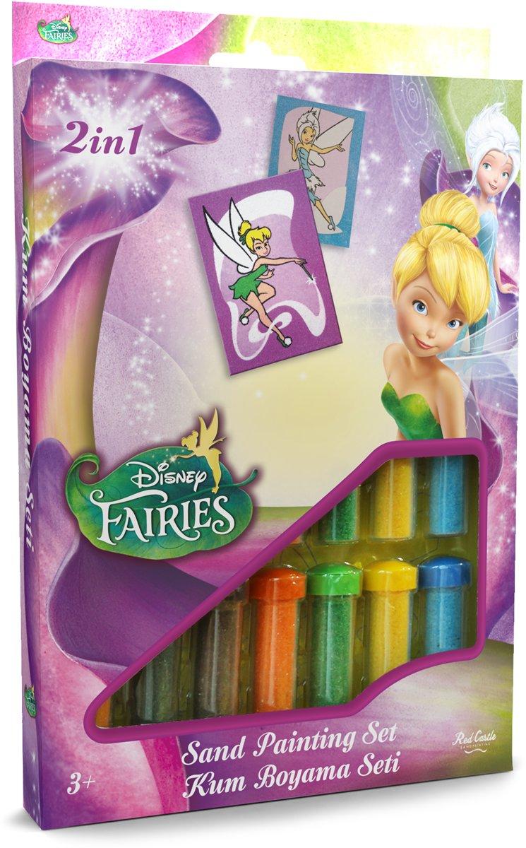 Disney Fairies - Tinker Bell & Periwinkle ? 2in1 Sand Painting Art Set kopen