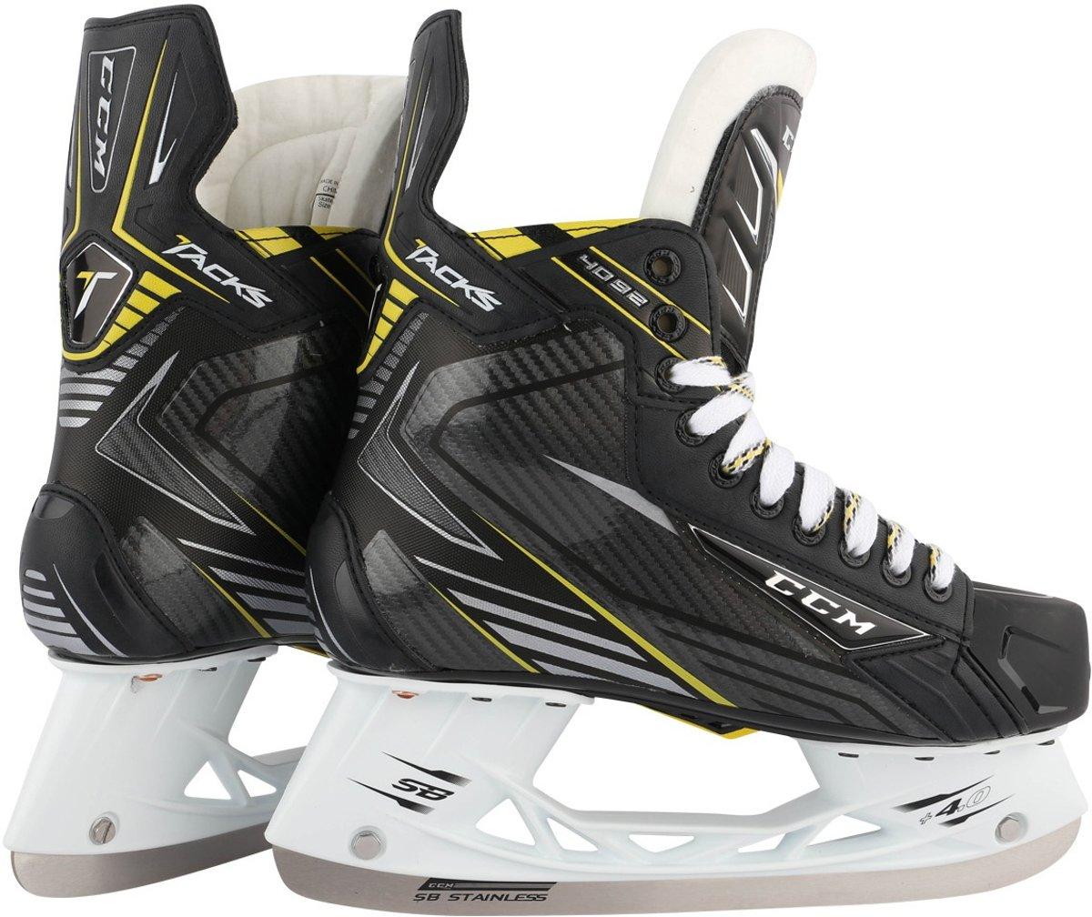 Ccm Ijshockeyschaatsen Tacks 4092 Unisex Zwart Maat 40