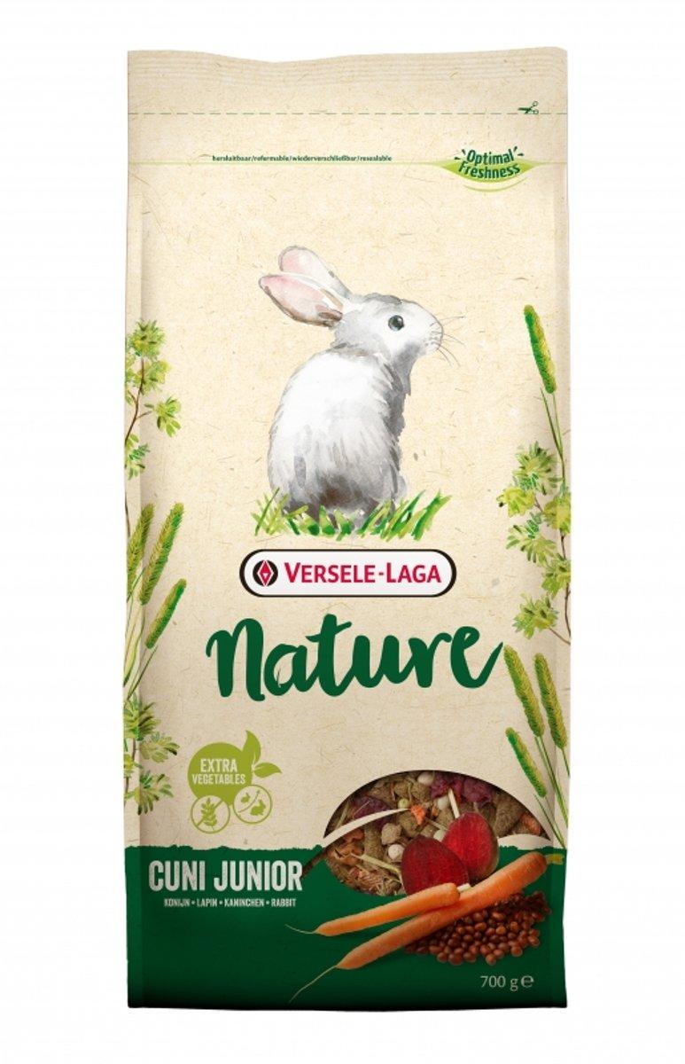 Versele-Laga Nature Cuni Junior - Konijnenvoer - 700 g
