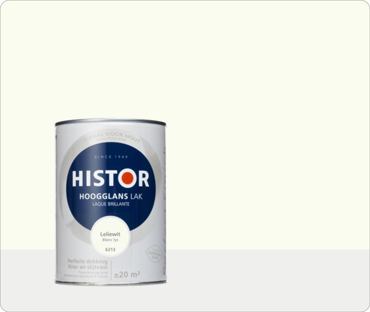 Histor Perfect Finish Lak Hoogglans 1,25 liter - Leliewit