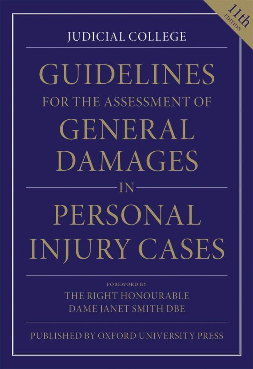 bol.com | Guidelines for the Assessment of General Damages in Personal  Injury Cases (ebook),.