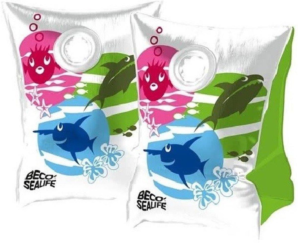 Beco Sealife zwembandjes / zwemvleugels gekleurd - maat 00  - tot 15 kg