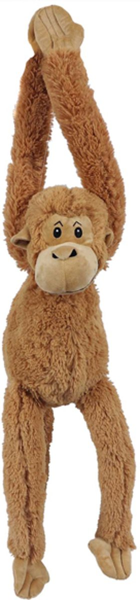 Afbeelding van product PIA Soft Toys  Hangaap bruin 48 cm