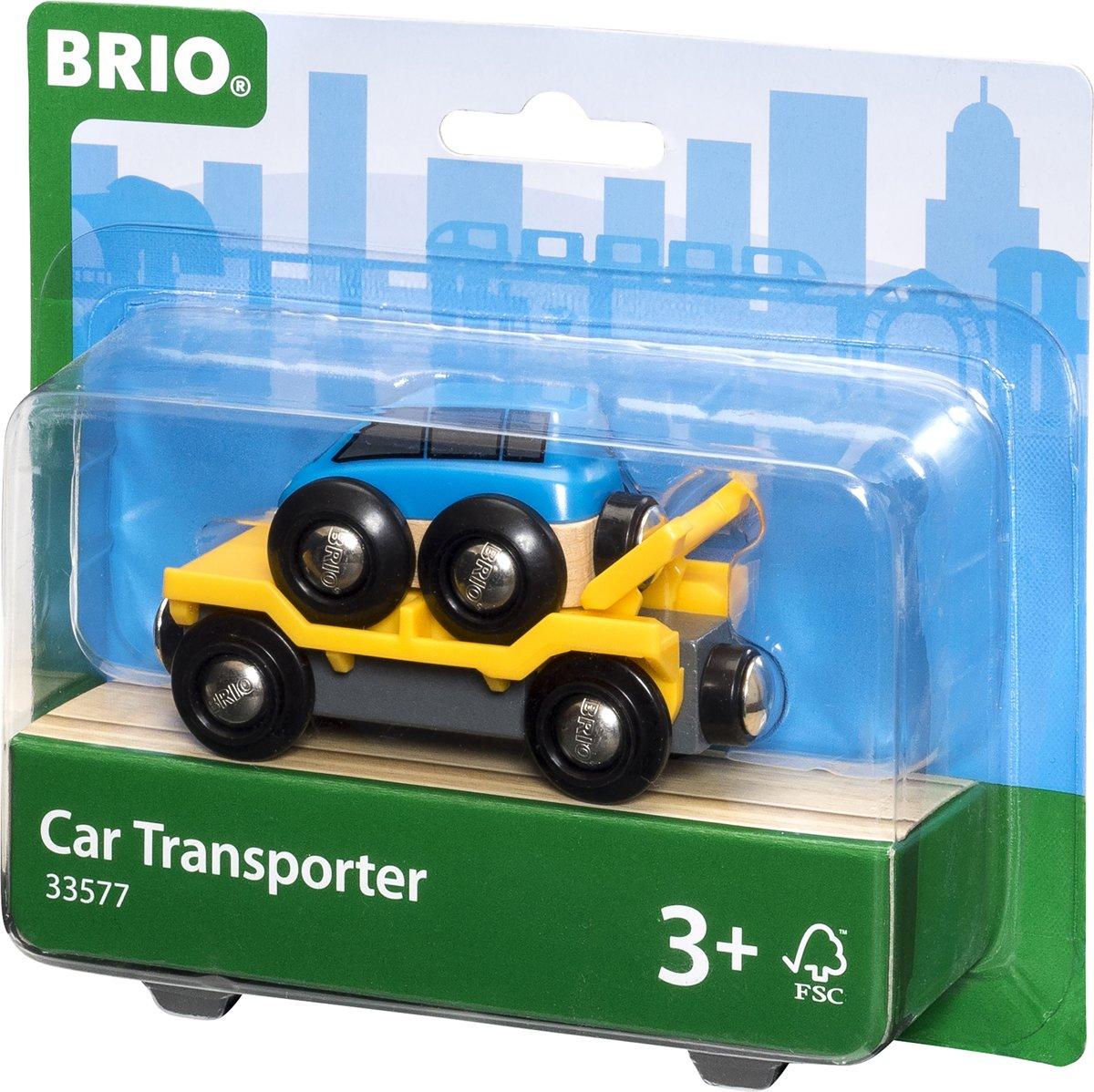 BRIO Autotransporter met oprijplaat - 33577