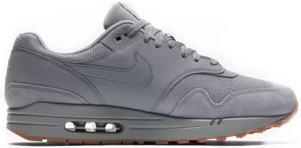 c38dd5c9cf Top Honderd | Nike Air Max 1 - Sneakers - Grijs - Maat 45 - Nike