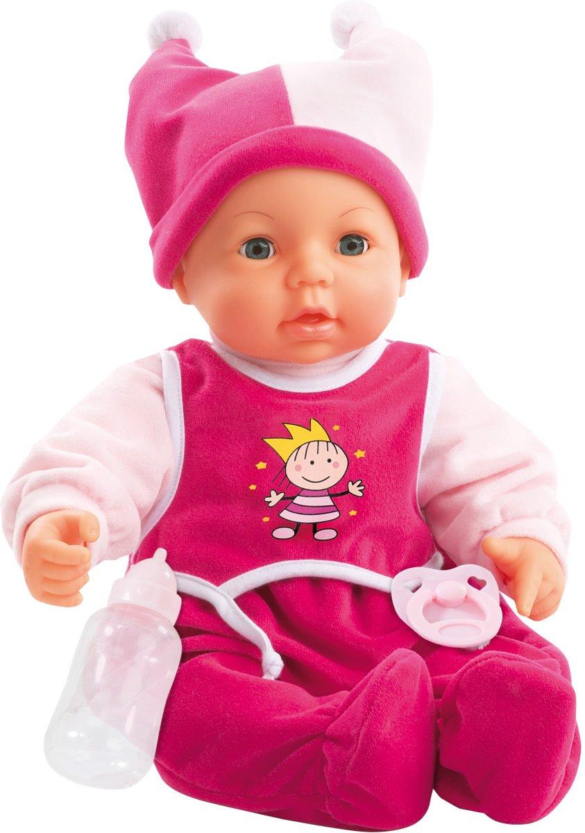 Bayer Babypop met Levensechte Functies - 46 cm