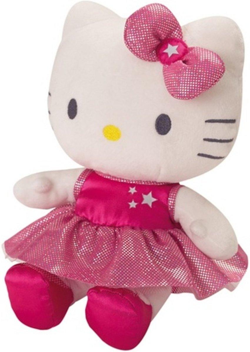 Hello Kitty Knuffel Danseuse Meisjes Roze 27 Cm
