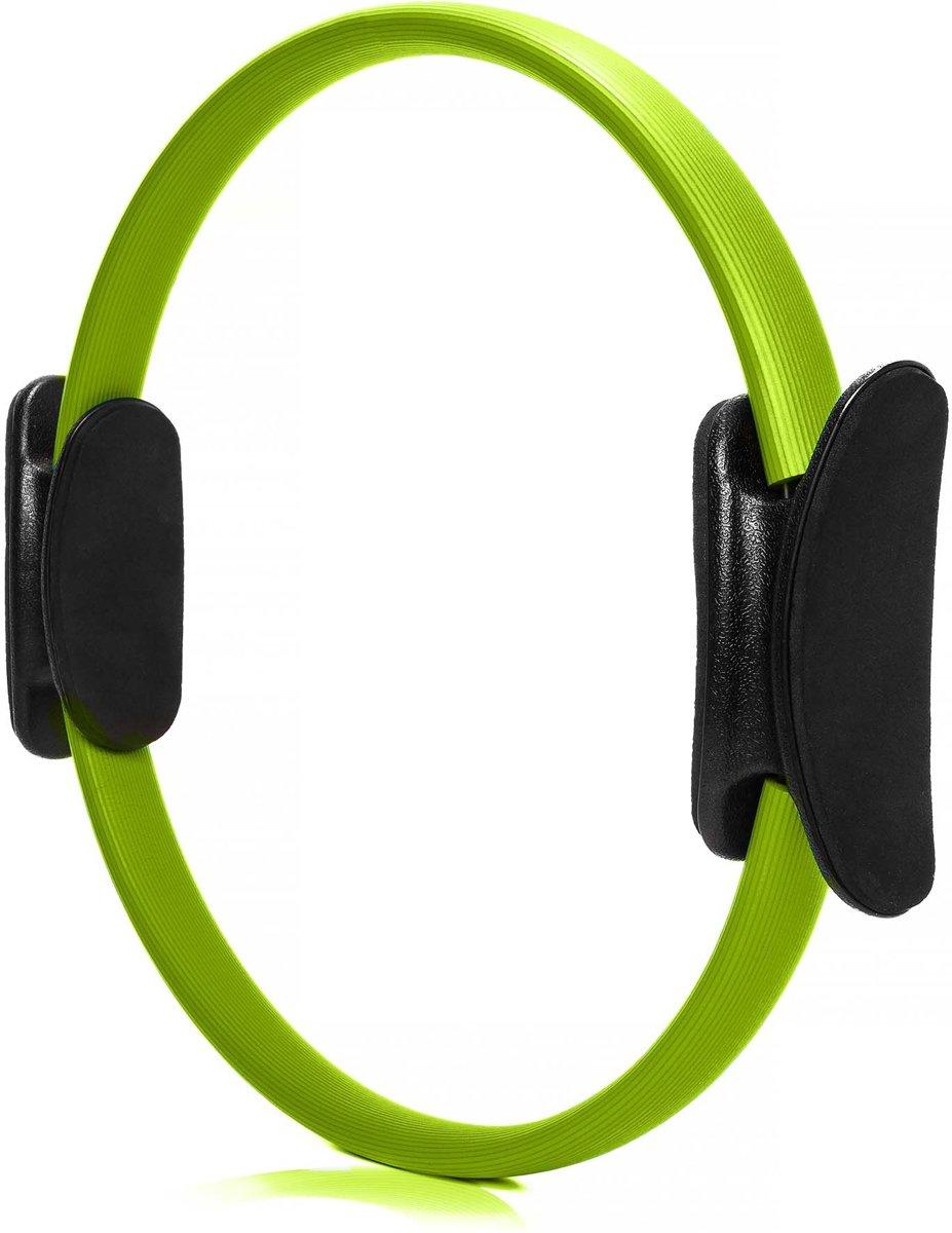 #DoYourFitness - Pilates Ring - »Loop« - voor effectieve pilates-oefeningen - Ø 37,6 cm - Groen kopen