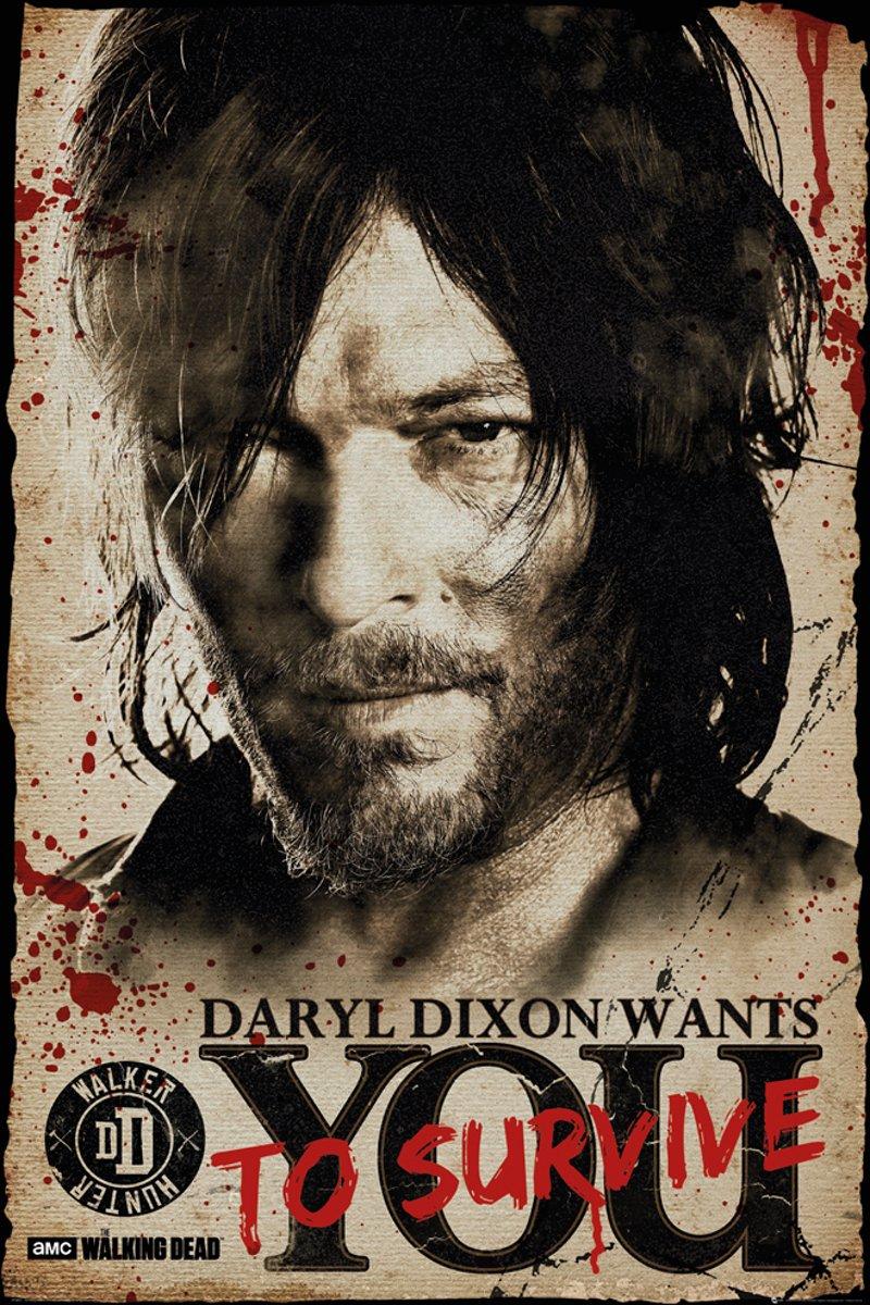 Maxi Poster The Walking Dead Daryl Needs You 61cm x 91.5cm kopen