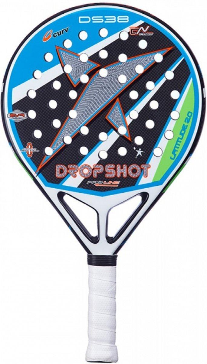 Drop Shot DS1800028 Padelrackets-Unisex-Maat--Blauw/Zwart/Groen
