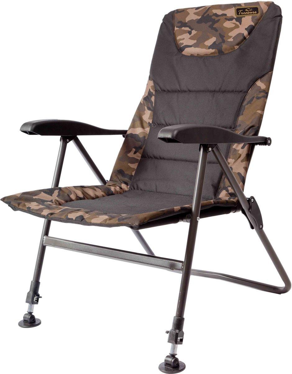 Lion Sports Treasure Bush Carp Arm Chair