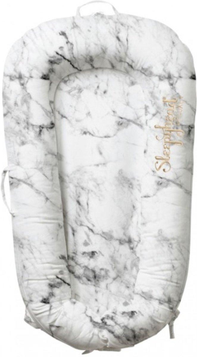Sleepyhead Deluxe Babynestje Carrara Marble