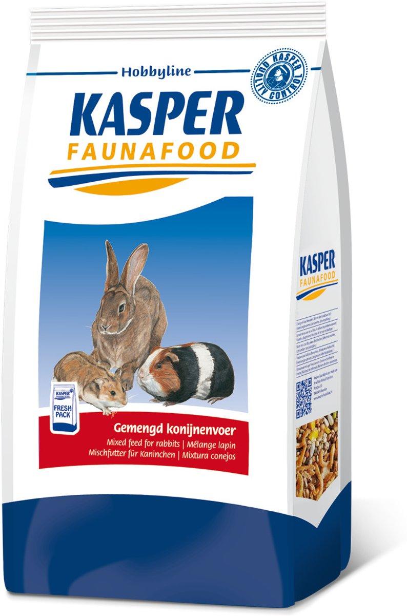 Kasper Faunafood Hobbyline Gemengd Konijnenvoer met Rode Wortel - 3.5 kg