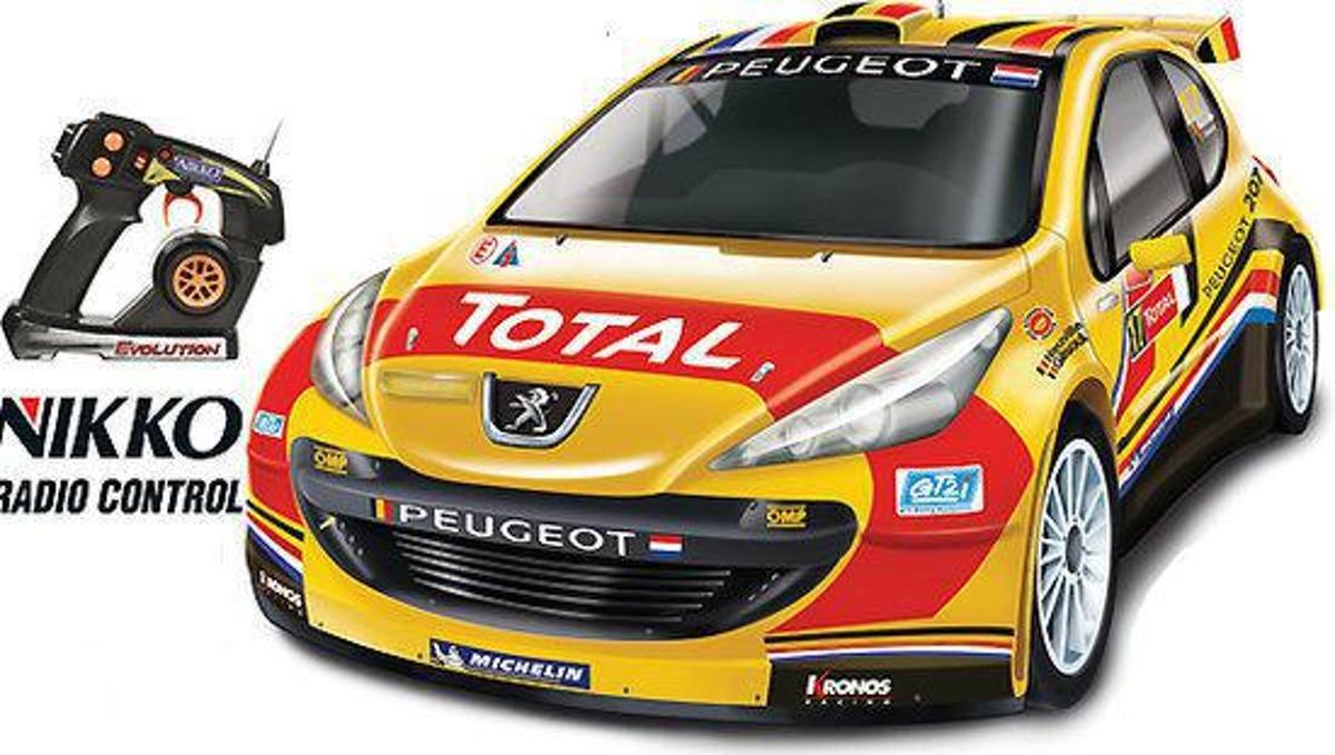 Nikko Evo. Peugeot 207 - Bestuurbare auto