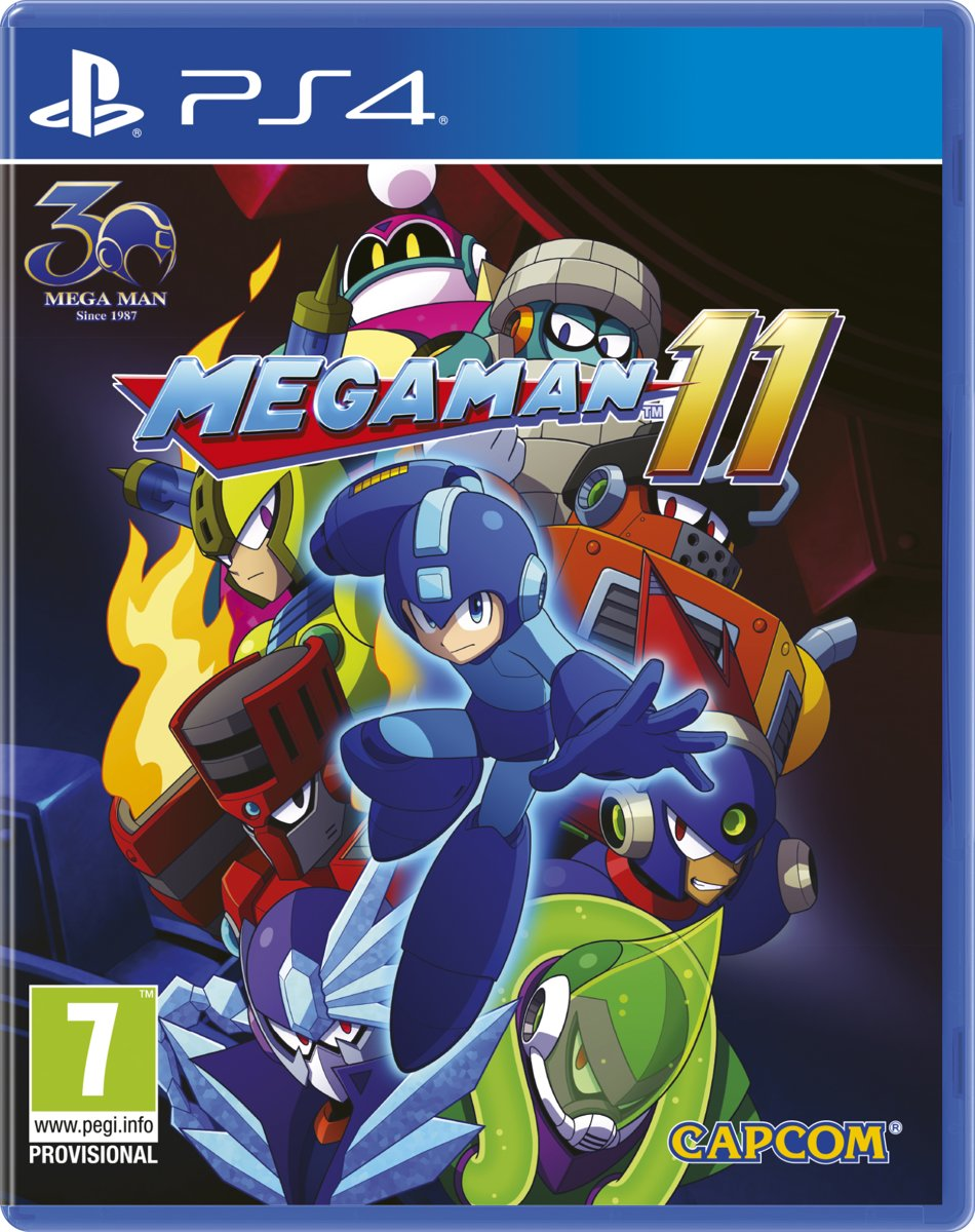 Mega Man 11 PlayStation 4