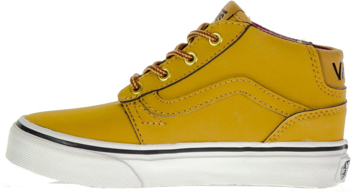 818db9c87fb bol.com | Vans Chapman Mid Sneakers - Maat 27 - Jongens - Kaki/wit