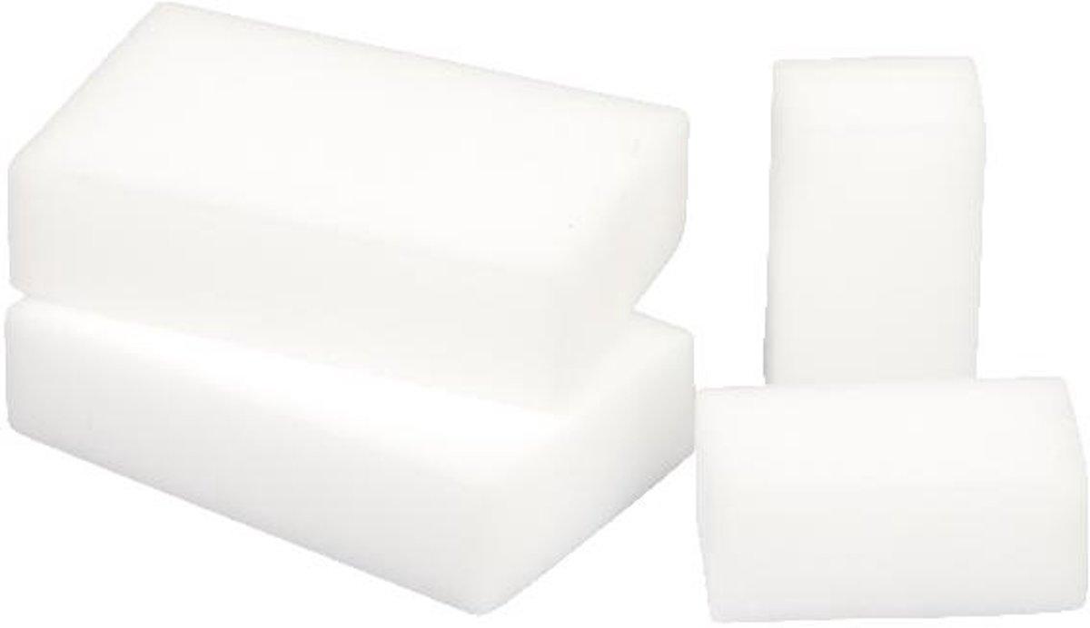 Gre Handschoenen Met Spons Voor Waterlijn Te Reingen Wit