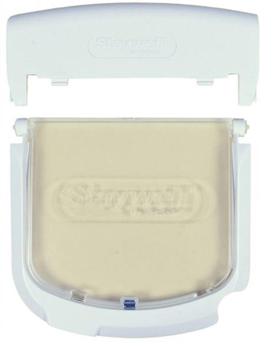 Petsafe luik+frame+batterijkap 300/400/500 wit kopen