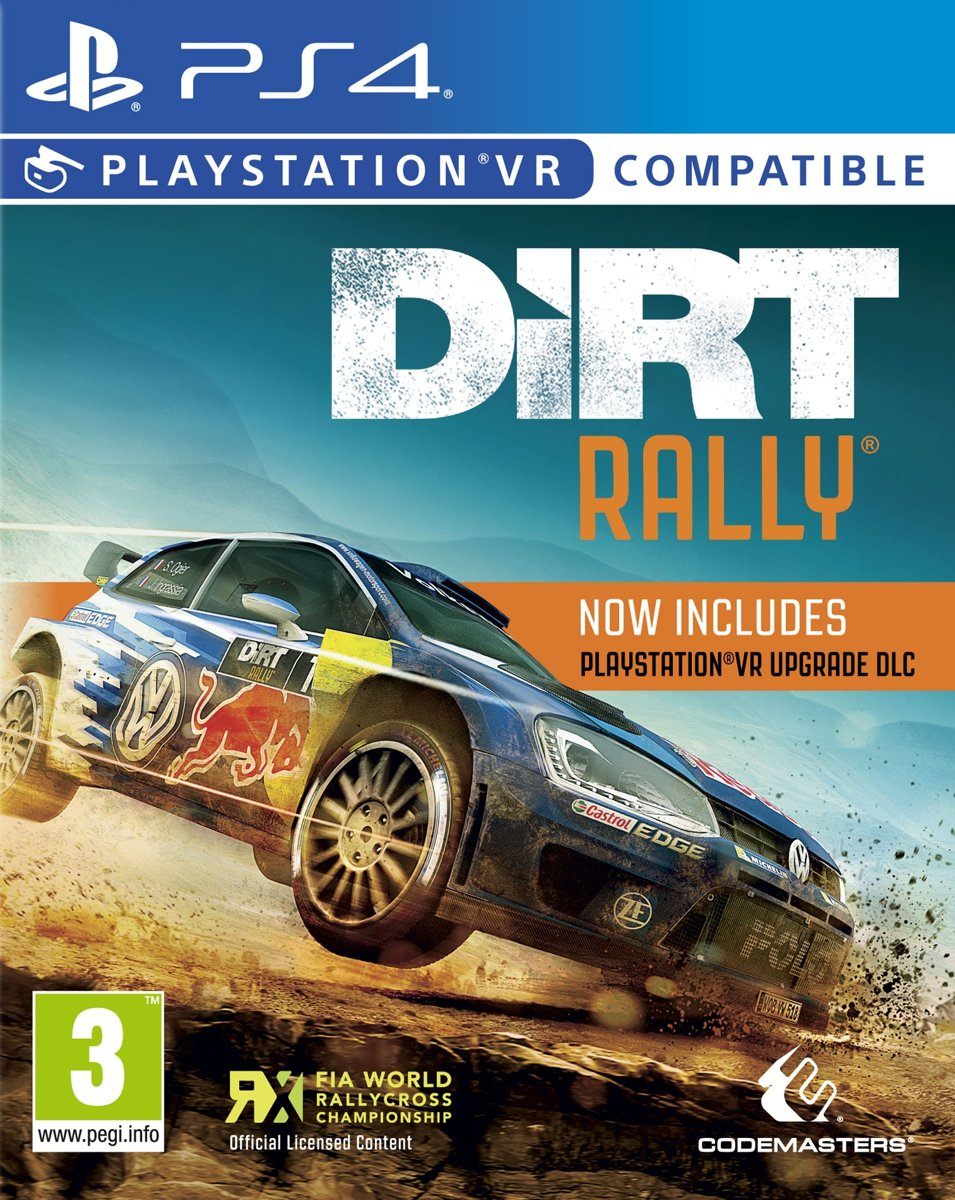 DiRT Rally VR Update Edition PlayStation 4