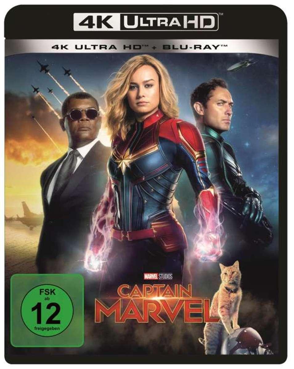 Captain Marvel (Ultra HD Blu-ray & Blu-ray)-