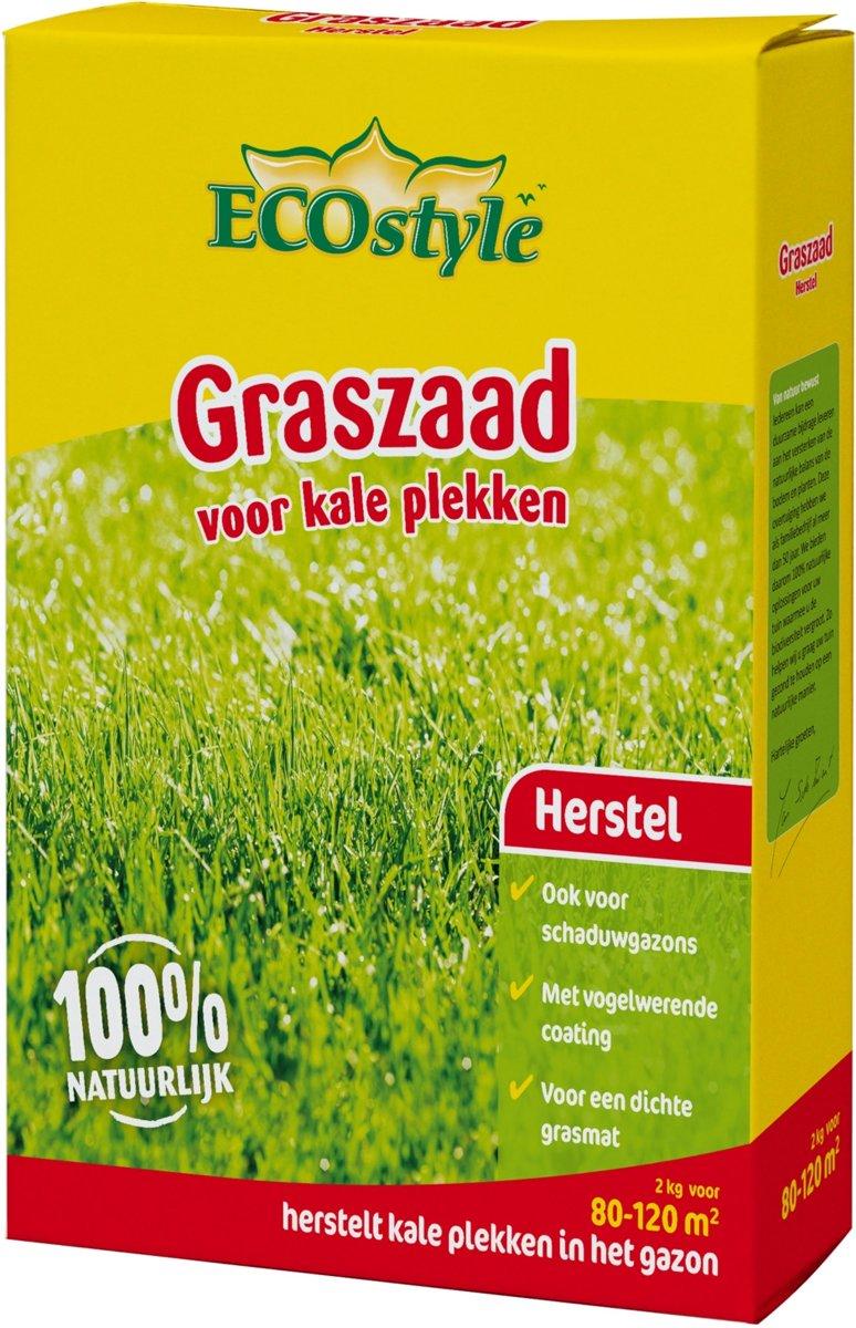 ECOstyle Graszaad-Extra - 2 kg - doorzaaien kale plekken - voor 80 tot 120 m2 kopen