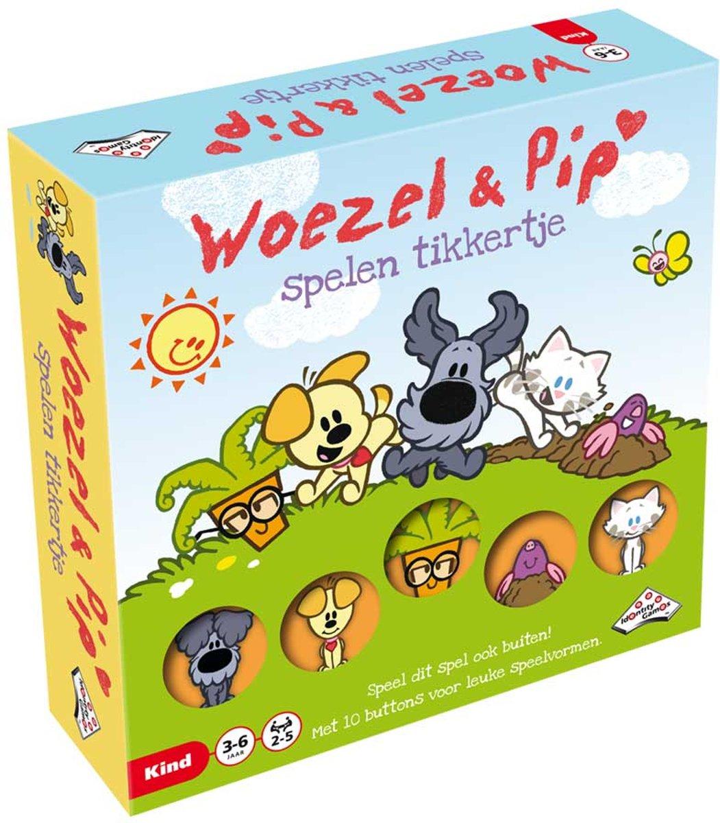Woezel & Pip Spelen Tikkertje - kinderspel