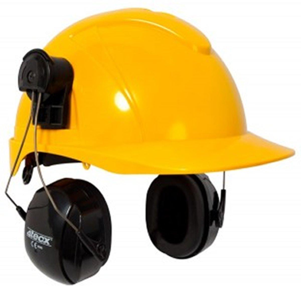 Foto van 4Tecx Oorkap v Helm Premium Zwart 29dB