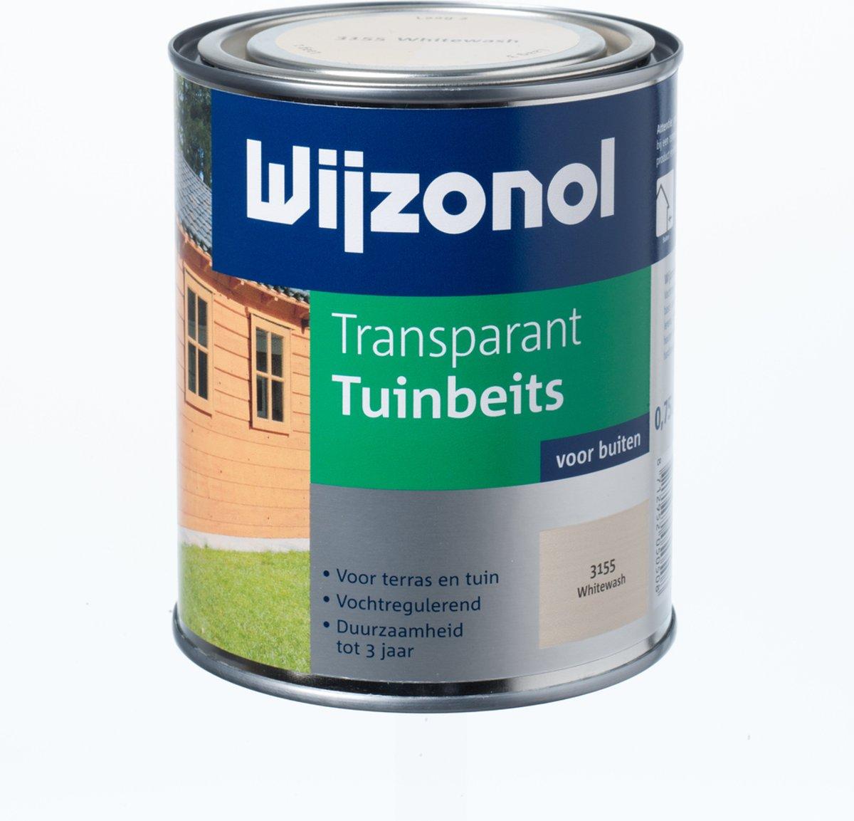 Wijzonol Transparant Tuinbeits - 0,75 liter - Grenen