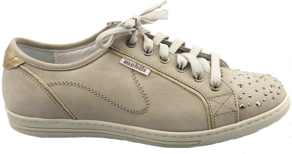 Mobils by Mephisto HOLDA SPARK dames sneaker EXTRA BREED beige 42.5