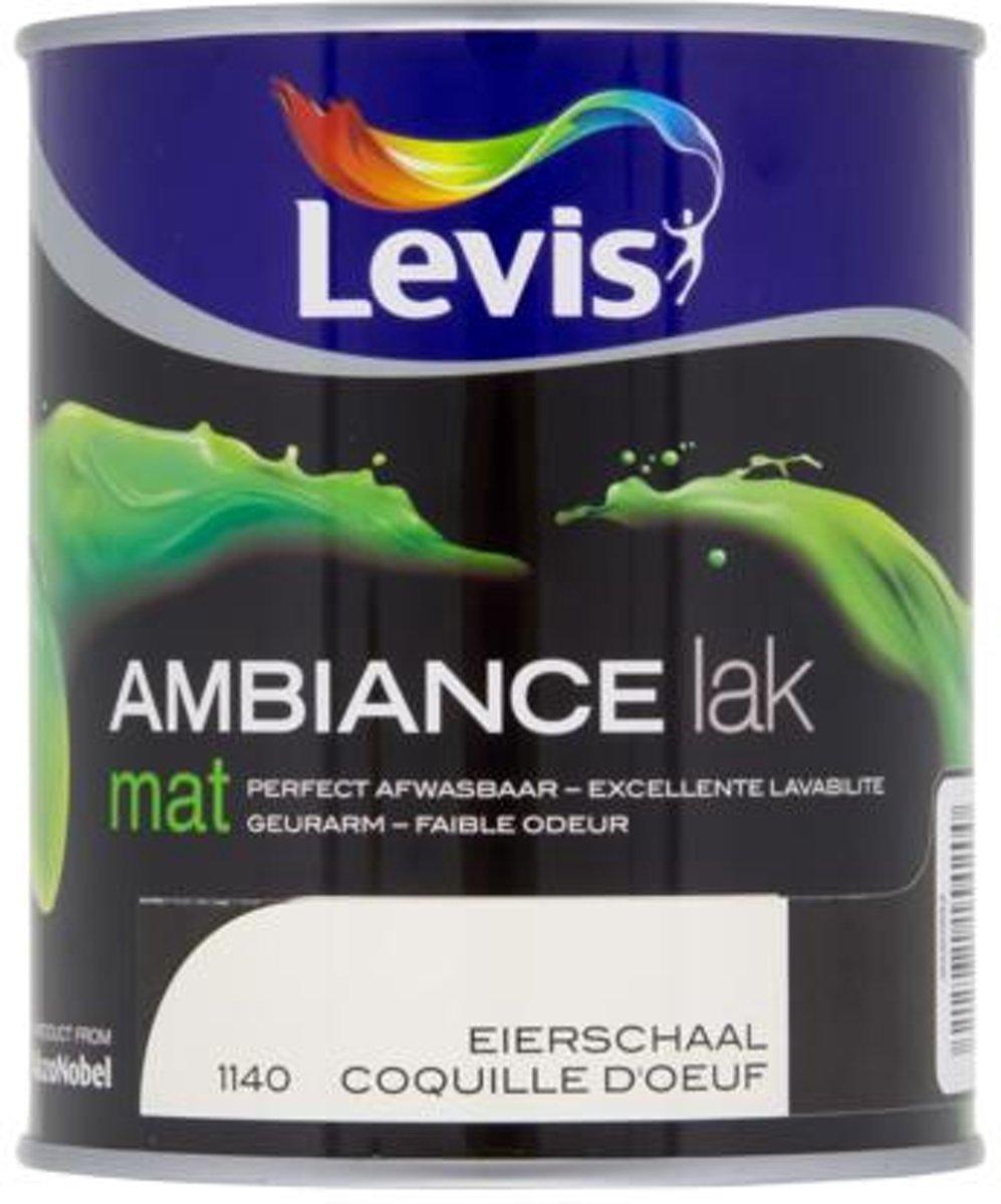 Levis lak 'Ambiance' eierschaal mat 750 ml