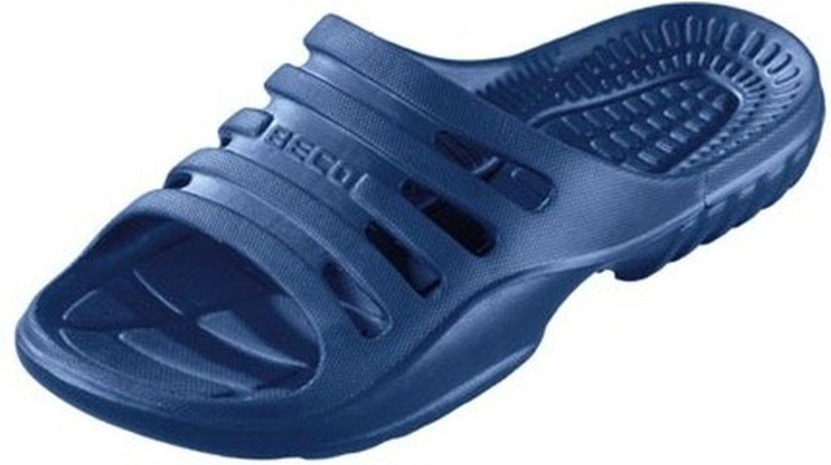 Beco Basic - Slippers - Heren - Maat 44 - Marine kopen