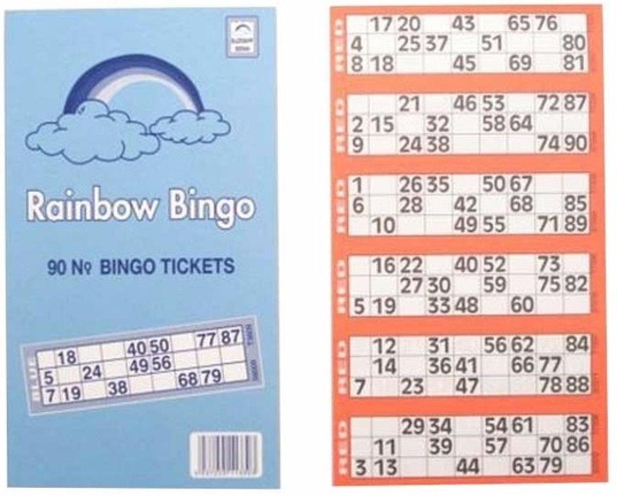 Genoeg bol.com | Bingokaarten 1- 90, Merkloos | Speelgoed #QN31